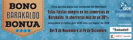 Adhesión al Bono Barakaldo 2016