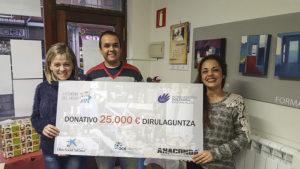 Donativo de 25000€ para La Cuadri del Hospi